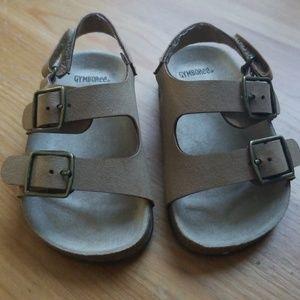 Gymboree tan sandals